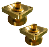 Brass CNC Machined Components Parts